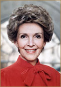 Nancy Davis Reagan